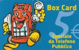 PREPAID PHONE CARD ITALIA ALBACOM (PM2374 - GSM-Kaarten, Aanvulling & Voorafbetaald