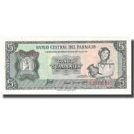 Billet, Paraguay, 5 Guaranies, KM:195b, NEUF - Paraguay