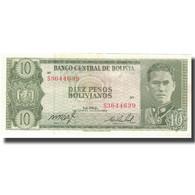 Billet, Bolivie, 10 Pesos Bolivianos, 1962, 1962-07-13, KM:154a, SUP - Bolivie