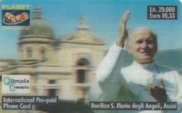 PREPAID PHONE CARD ITALIA PLANET-OLO-PAPA (PM2454 - Italy
