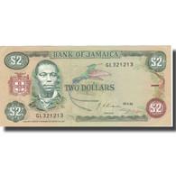 Billet, Jamaica, 2 Dollars, 1992, 1992-05-29, KM:69d, SPL+ - Giamaica