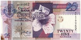 Seychelles  2005  Banknote 25 Rupees  As Per Scan - Seychelles