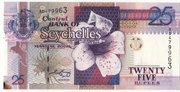 Seychelles  2005  Banknote 25 Rupees  As Per Scan - Seychellen