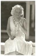Sexy JEAN HARLOW Actress PIN UP PHOTO Postcard - Publisher RWP 2003 (09) - Artistas