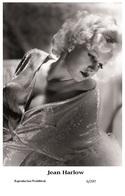 JEAN HARLOW - Film Star Pin Up PHOTO POSTCARD - 6-297 Swiftsure Postcard - Cartes Postales