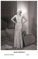JEAN HARLOW - Film Star Pin Up PHOTO POSTCARD - 6-355 Swiftsure Postcard - Postales