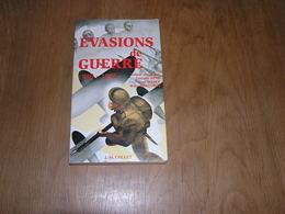 EVASIONS DE GUERRE 1940 1945 Guerre 40 45 Belgique Stalag Kommando Ligne Evasion Gibraltar Prisonnier Belge Marin - Guerre 1939-45