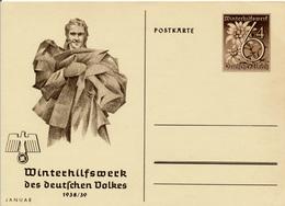 DR - 1938/39  ,  WHW  -  Januar - Allemagne