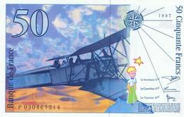 FRANCE - Billet 50 Francs Saint-Exupéry  1997 - Neuf - 1992-2000 Laatste Reeks