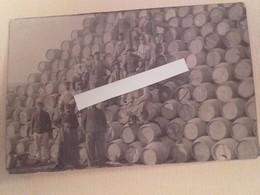 1915 Infanterie Territoriale Dépot De Tonneaux Vins Subsistance Ravitaillement Pour Front Tranchées Poilus 1914 1918 WW1 - Guerra, Militari