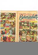 Bernadette N°384  Tombée Du Ciel Kallidia Marie Paris Oublié Semaine Ste Passion Geneviève Bergère Paris Miette Totoche. - Livres, BD, Revues