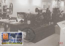 Carte  Maximum  1er   Jour   SAINT  PIERRE  Et   MIQUELON     50éme   Salon  Philatélique  D' Automne   1996 - Cartes-maximum