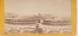 NOT PC  ~   ITALIA COLOSEUM  ~~  OLD STEREO PHOTO  ~ 17,8 Cm X 8,7 Cm  ~ YEAR 1850 ~ 1870 - Stereoskope - Stereobetrachter