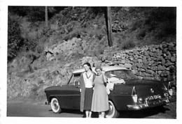 SIMCA ARIANE ET FAMILLE   FORMAT 6 X 6 CM - Automobiles