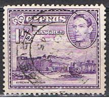 (XIP 105) CHYPRE // YVERT 38 A //  KYRENIA // 1938-51 - Cyprus (...-1960)