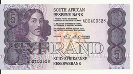 AFRIQUE DU SUD 5 RAND ND1990-94 AUNC P 119 E - Afrique Du Sud