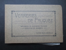 """CARNET 35 """"CP"""" BELGIQUE (K02) ITTRE (36 Vues) VERRERIES DE FAUQUEZ - Ittre"""