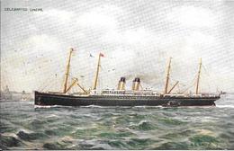 CPA- Vers 1972-PAQUEBOT-S.S CELTIC-Cie WHITE STAR LINES-Ferraillé 1897-TBE-RARE - Paquebots