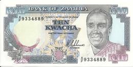 ZAMBIE 10 KWACHA ND1989-91 UNC P 31 - Zambie