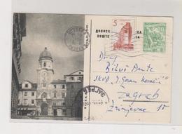 YUGOSLAVIA,postal Stationery RIJEKA - Entiers Postaux