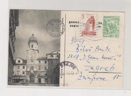YUGOSLAVIA,postal Stationery RIJEKA - Ganzsachen