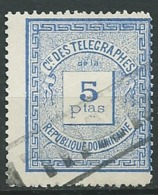 Dominicaine  - Telegraphe   Yvert N°   5 Oblitéré     -  Po 61529 - Dominicaine (République)