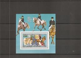 JO De LosAngelès - 1984 - Hippisme ( BF 123 XXX -MNH- De Guinée) - Estate 1984: Los Angeles