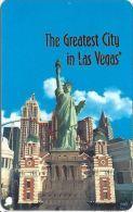 New York New York Casino Las Vegas BLANK Slot Card - Casino Cards
