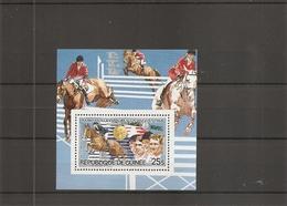 JO De LosAngelès - 1984 - Hippisme ( BF 127 XXX -MNH- De Guinée) - Estate 1984: Los Angeles
