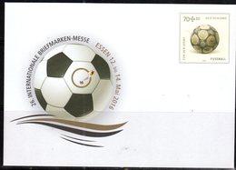 GERMANY, MINT POSTAL STATIONERY, PREPAID ENVELOPE, FOOTBALL, SOCCER - Calcio