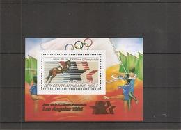 JO De LosAngelès - 1984 - Hippisme ( BF 246 XXX -MNH- De Centrafricaine ) - Estate 1984: Los Angeles