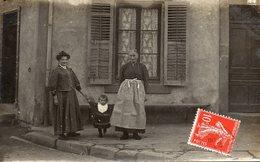 88 -CELLES-sur-PLAINE --Carte PHOTO Au N°44 (Trois Générations ?.?). - France