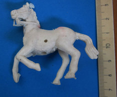 CAVALLO HORSE VINTAGE BIANCO - Figurini & Soldatini