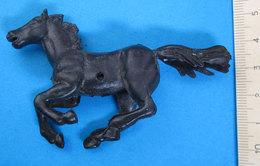 CAVALLO HORSE VINTAGE NERO - Figurines