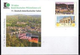 GERMANY, 2016, MINT POSTAL STATIONERY, PREPAID ENVELOPE,HEIDELBERG, BRIDGES - Bridges