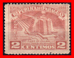 PARAGUAY (AMERICA DEL SUR)  SELLO AÑO 1931 - Paraguay
