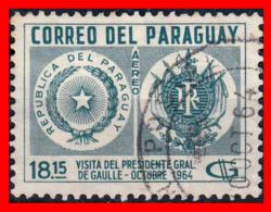 PARAGUAY (AMERICA DEL SUR)  SELLO HOMENAGE A LOS HEROES DEL CHACO - Paraguay