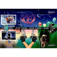 CM CEF - Jeux Vidéo - Spyro / Lara Croft - 11/11/2005 Paris - 2000-09