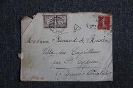 Lettre Taxée De ST CYPRIEN (66) - Lettres Taxées