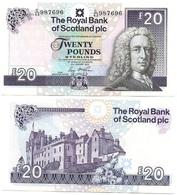 Scotland - 20 Pounds 2016 AUNC RBS Lemberg-Zp - Scozia