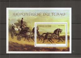 Tchad - Chevaux ( BF 60 XXX -MNH) - Ciad (1960-...)