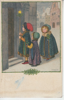 Illustrateur Pauli EBNER - Enfants Etoile Noël  PRIX FIXE - Ebner, Pauli