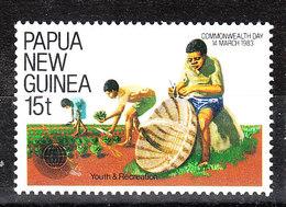 Papua  N. Guinea  - 1983. Artigiano: Confezione Cappello Di Paglia.Craftsman: Packs Straw Hat. MNH - Professioni