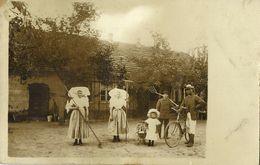 WERBEN, Spreewald, Menschen In Traditionellen Tracht Für Bauernhof 1913 Foto-AK - Germania