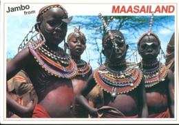 Kenya : Jeunes Filles Maasai - Kenya