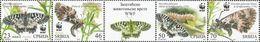 SRB 2016-657-60 WWF BUTTERFLY, SERBIA, 1 X 4v, MNH - Serbie