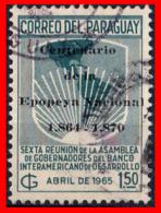 PARAGUAY (AMERICA DEL SUR) SELLO ANTIGUO PRAGUAY 1,50 PESOS - Paraguay