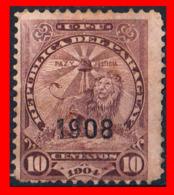 PARAGUAY ( AMERICA DEL SUR)  SELLO AÑO 1908 - Paraguay