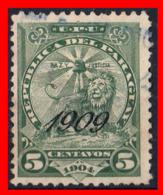 PARAGUAY ( AMERICA DEL SUR)  SELLO AÑO 1909 - Paraguay