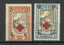 Estland Estonia 1926 Michel 60 - 61 MNH - Estonia